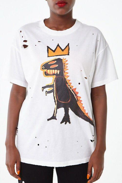 WHITE/MULTI Basquiat Graphic Tee, image 2