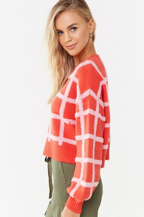 Grid Print Sweater, image 2