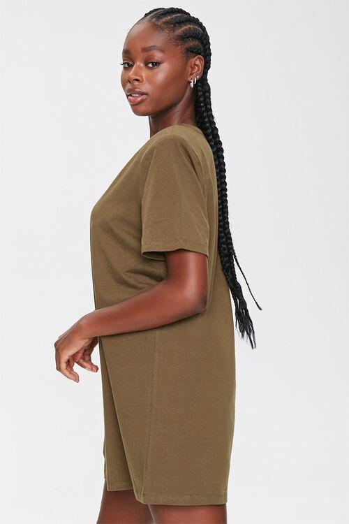 Shoulder-Pad T-Shirt Dress, image 2