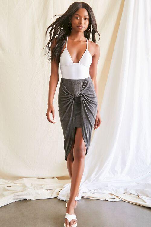 High-Low Gathered Skirt, image 5