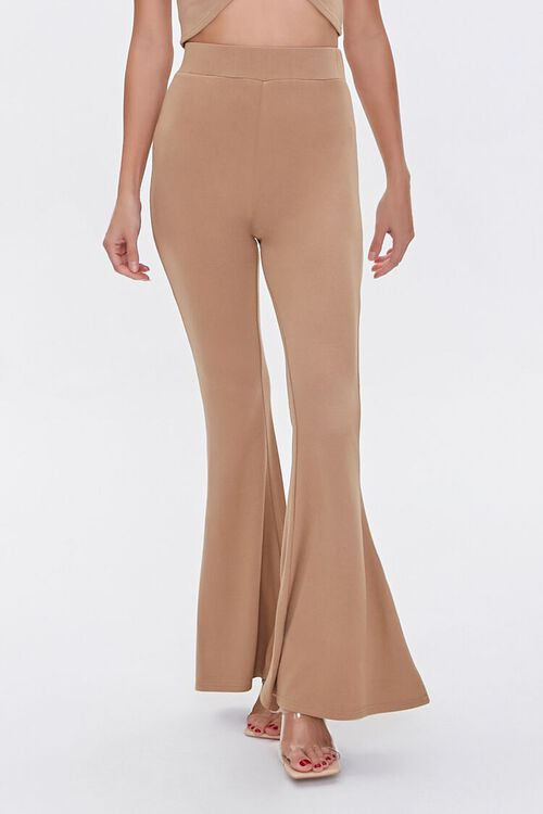 Crop Top & Flare Pants Set, image 5