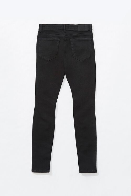 Distressed Moto Skinny Jeans, image 2