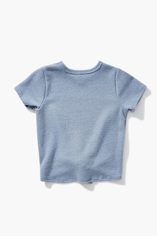 BLUE Girls Knotted Tee (Kids), image 2