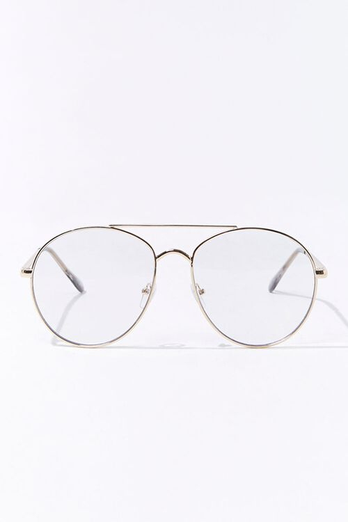 Round Metal Reader Glasses, image 1