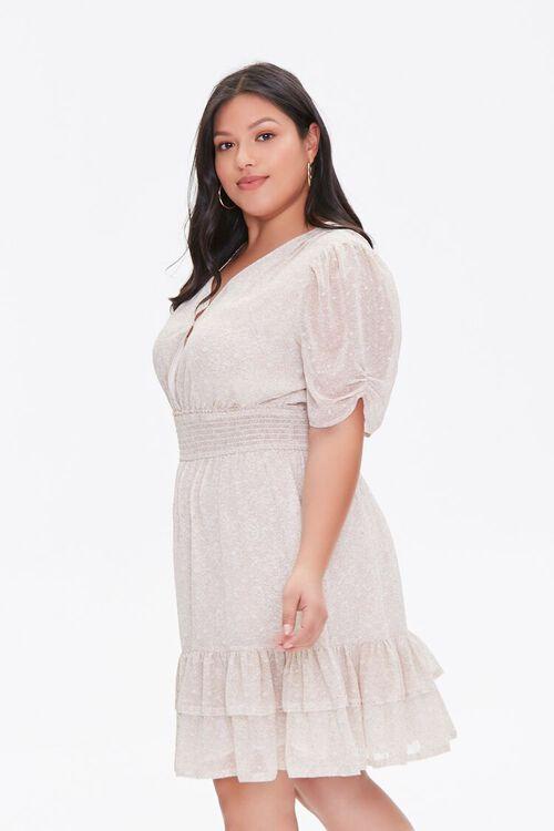 Plus Size Floral Flounce Dress, image 2