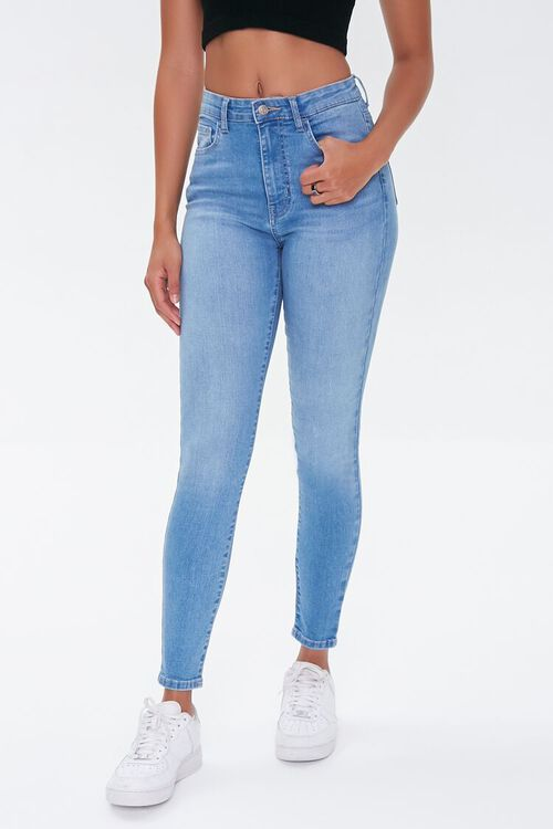 Essential Mid-Rise Skinny Jeans, image 2