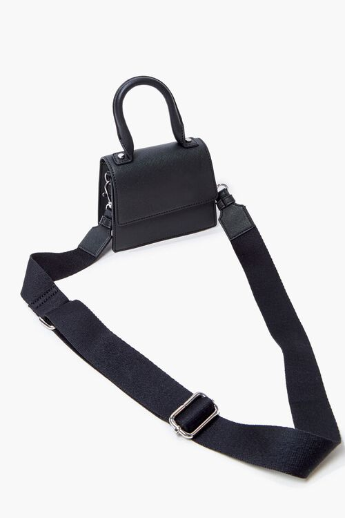 Flap-Top Crossbody Bag, image 4