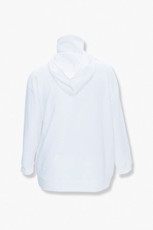 Plus Size Face Mask Hoodie, image 3
