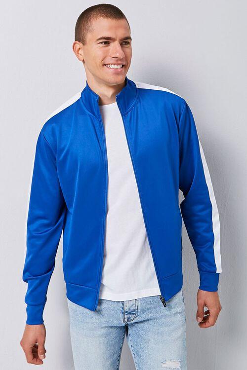 Striped-Trim Zip-Up Jacket, image 5
