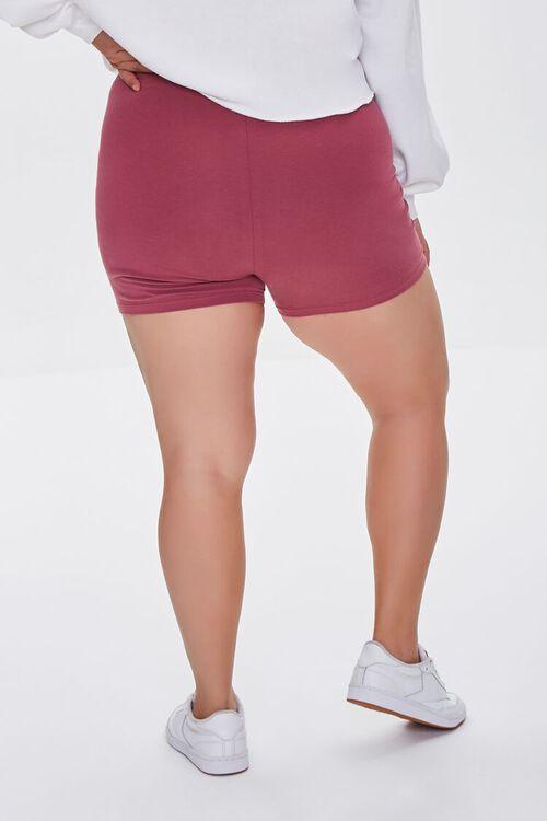 Plus Size Basic Organically Grown Cotton Hot Shorts, image 4
