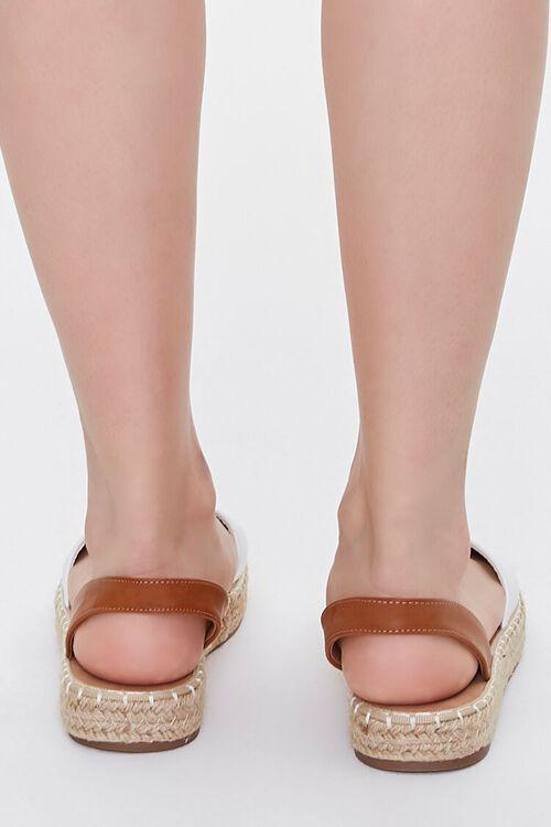 Peep-Toe Espadrille Flatform Sandals, image 3