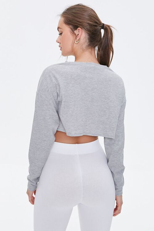 HEATHER GREY Active Thermal Top, image 3