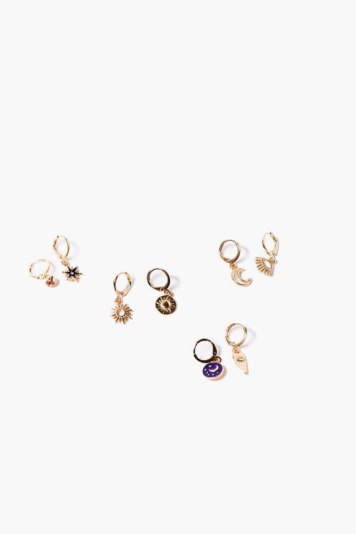 Celestial Hoop Earring Set, image 1