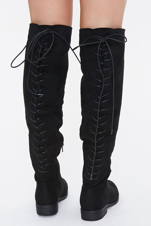 Lace-Up Knee-High Boots, image 3
