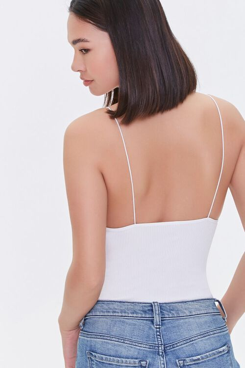 Ribbed Scoop-Cut Bodysuit, image 3
