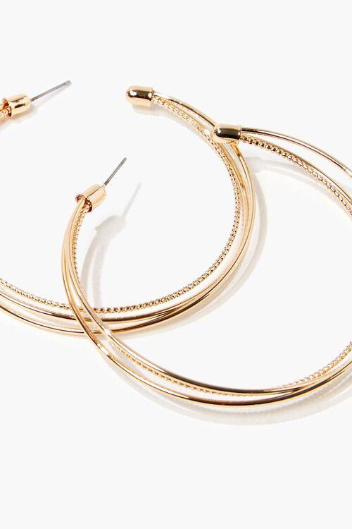 Layered Hoop Earrings, image 3