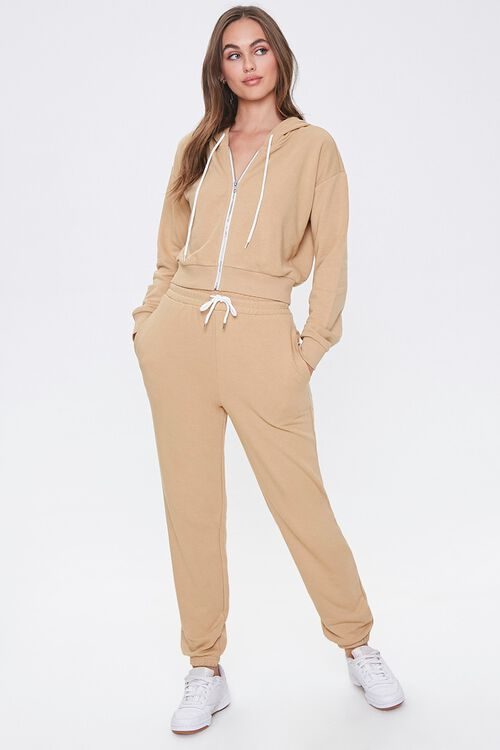 French Terry Drawstring Pants, image 5