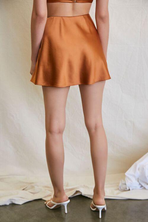 CHESTNUT Skater Mini Skirt, image 4