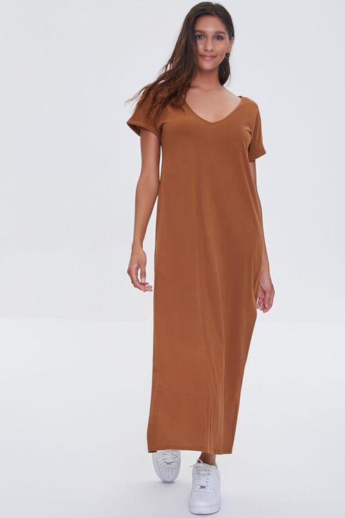 Side-Slit Maxi Dress, image 4