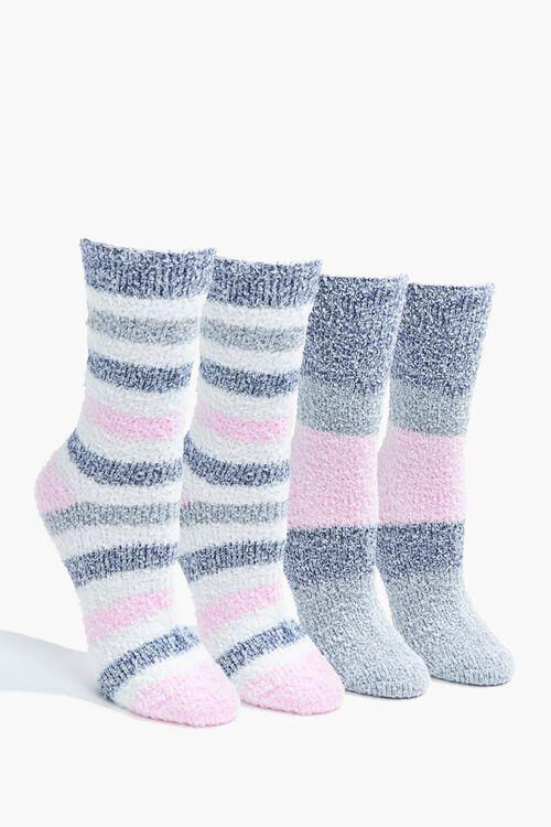 Fuzzy Crew Socks - 2 Pack, image 1
