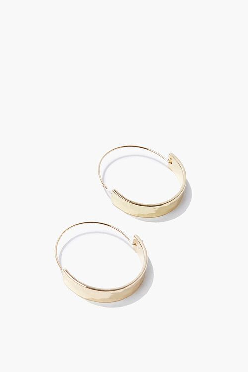Upcycled Hoop Earrings, image 2