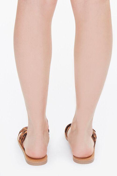 Leopard Crisscross Sandals, image 3