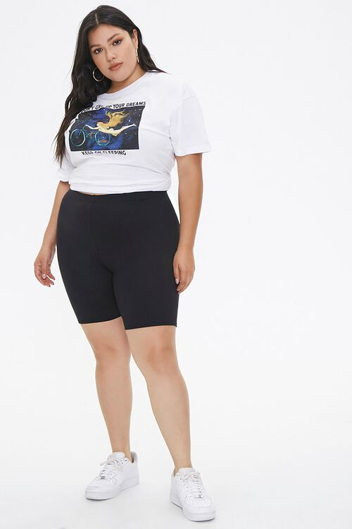 Plus Size Biker Shorts, image 5