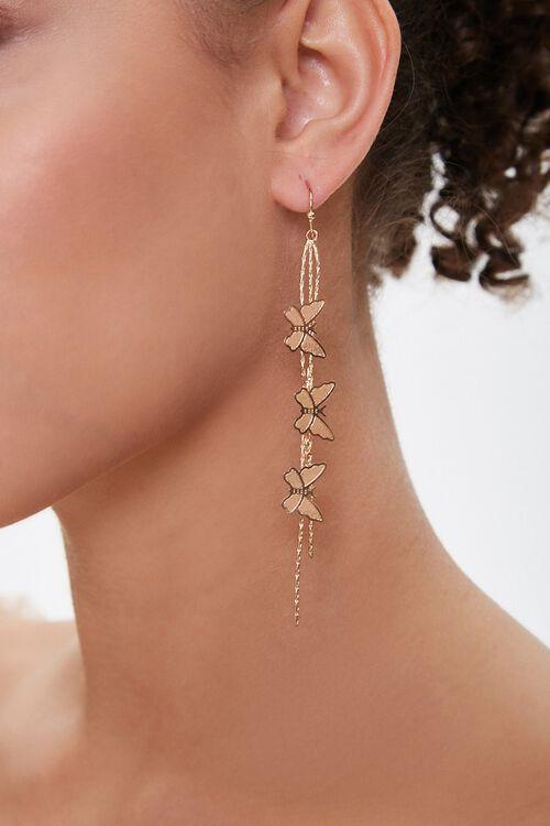 Butterfly Duster Earrings, image 1