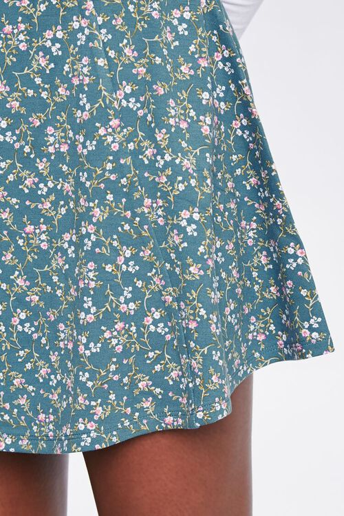 Floral Skater Skirt, image 5