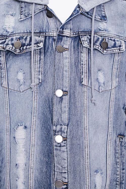 Distressed Denim Combo Jacket, image 4