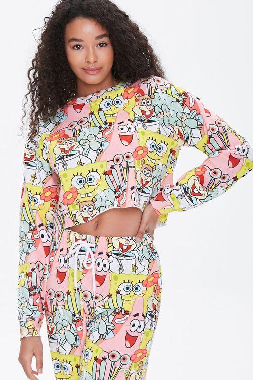 SpongeBob SquarePants Print Pullover, image 1