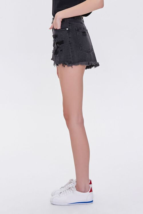 Distressed Denim Shorts, image 3