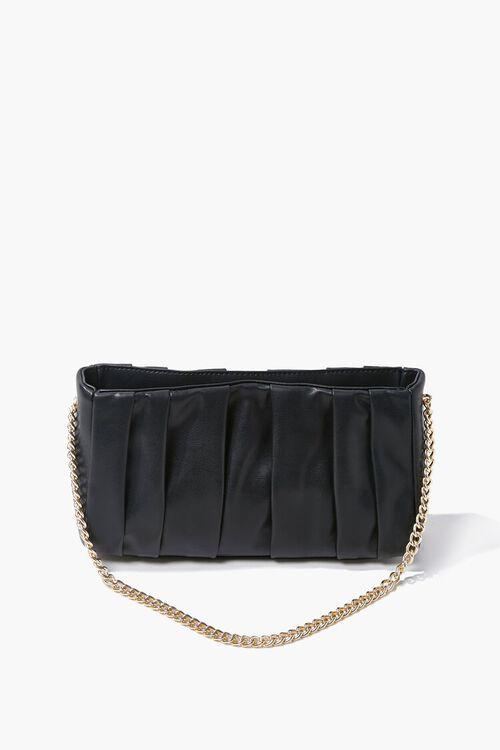 Pleated Crossbody Bag, image 1