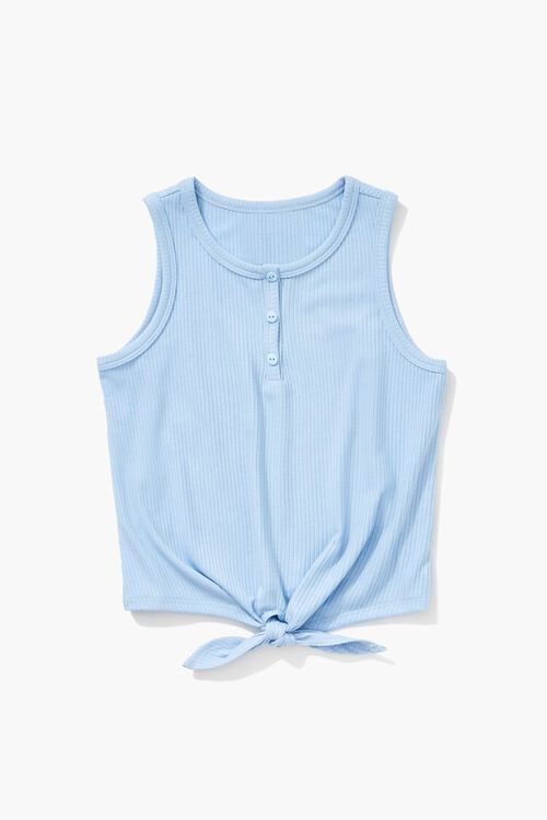 Girls Knotted Self-Tie Top (Kids), image 1