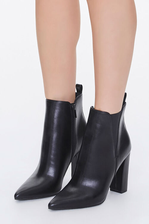 Pointed-Toe Chelsea Boots, image 1