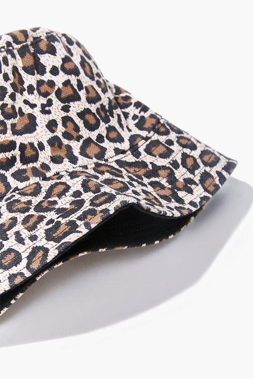 Leopard Print Bucket Hat, image 3