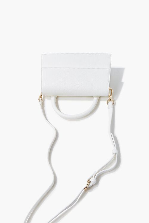 Structured Flap-Top Crossbody Bag, image 4
