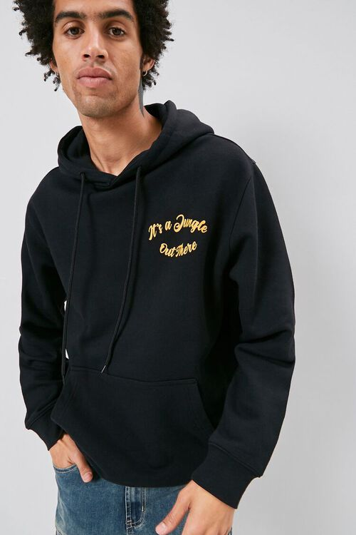 Its a Jungle Out There Graphic Hoodie, image 2
