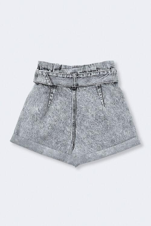 Acid Wash Paperbag Shorts, image 2