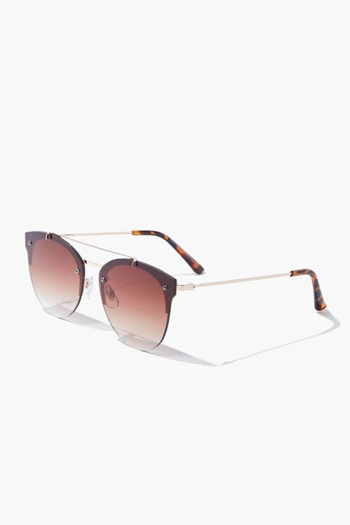 Round Metal Sunglasses, image 2