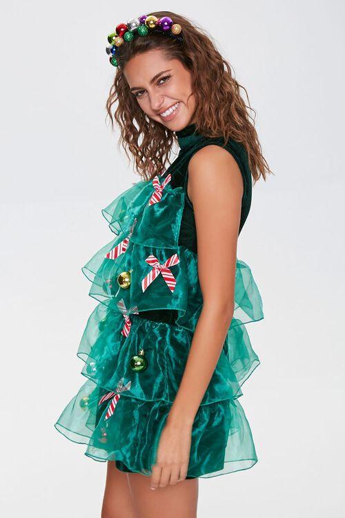 Christmas Tree Holiday Dress, image 2