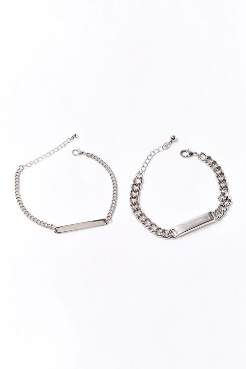 Bar Pendant Bracelet Set, image 1