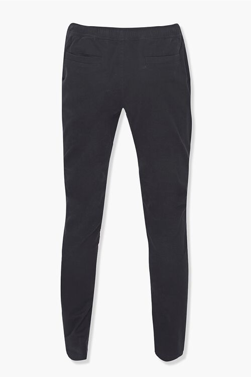 Drawstring Ankle-Zip Skinny Pants, image 3