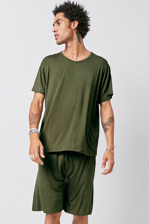 Tee & Shorts Pajama Set, image 1