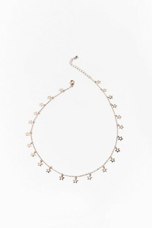 GOLD Star Charm Chain Necklace, image 3