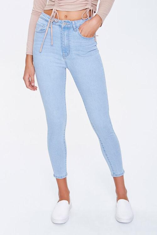 Petite Skinny High-Rise Jeans, image 2