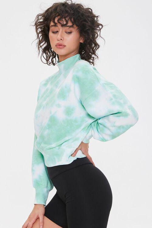 Fleece Tie-Dye Pullover, image 2