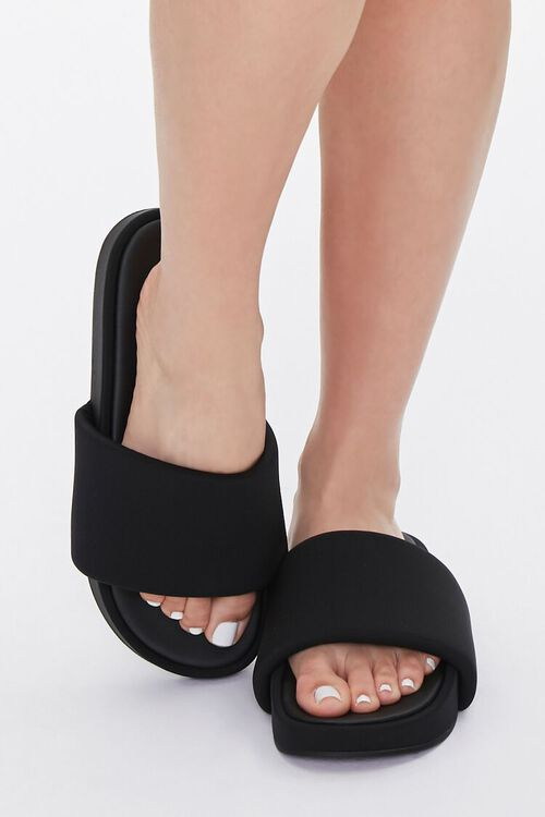 Slip-On Platform Sandals, image 4