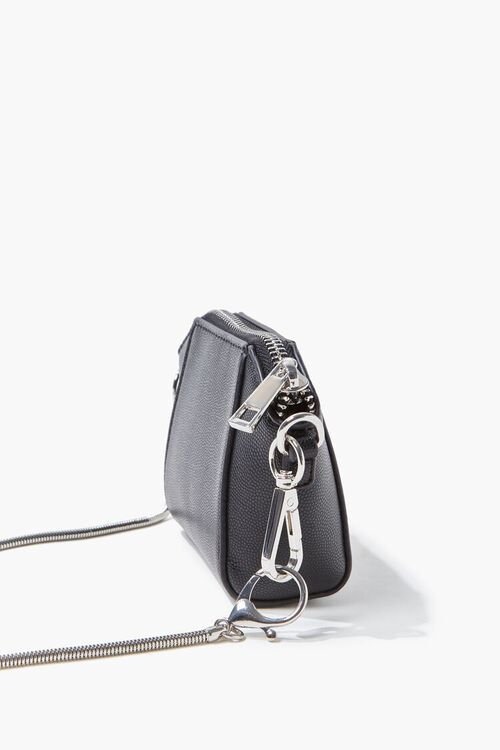 Faux Leather Crossbody Bag, image 2