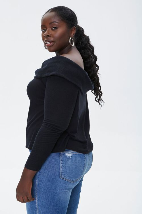 Plus Size Off-the-Shoulder Top, image 2
